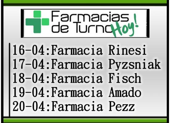 Farmacias de turno santa fe capital