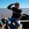 Un tosquense entre los rescatistas del pescador caído al agua en el Concurso de Pesca del Surubí