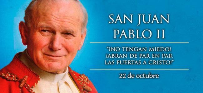 Hoy es la fiesta de San Juan Pablo II, el grande