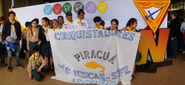 El Club Piracuá representó a los Conquistadores de la zona en Misiones