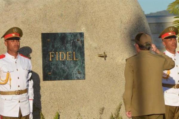 Los actos funerarios en Santa Ifigenia fueron de carácter privado y reservado a la familia de Fidel Castro por lo que no hubo acceso de la prensa.
