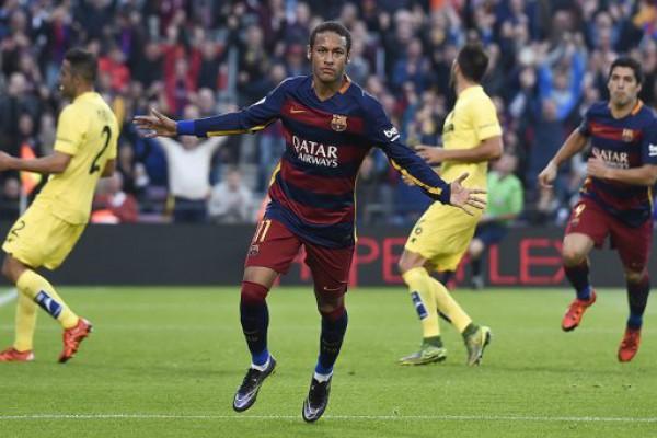 Con una genialidad de Neymar, el Barcelona goleó al Villarreal