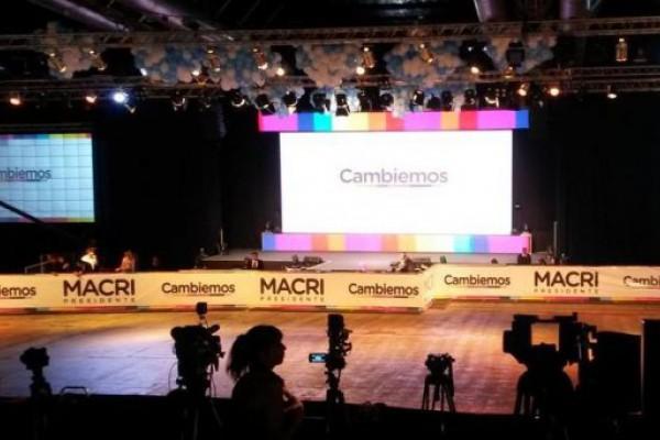 Costa Salguero: la cumbia a todo volumen marca el clima en Cambiemos