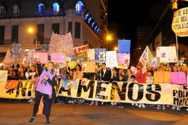 #NiUnaMenos: más de 100 marchas en todo el país contra la violencia de género
