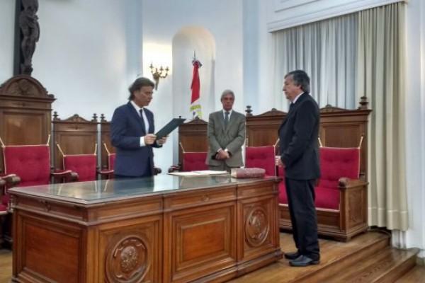 Resultado de imagen para Rubén Martínez juró como Fiscal Regional de la Cuarta Circunscripción Judicial